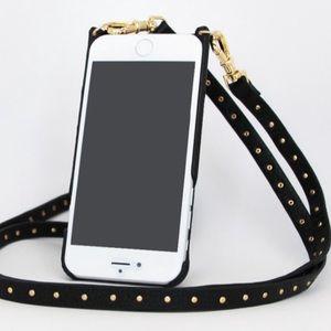 8315935ad30 Bandioler Studded I Phone Case Crossbody Bag NWT